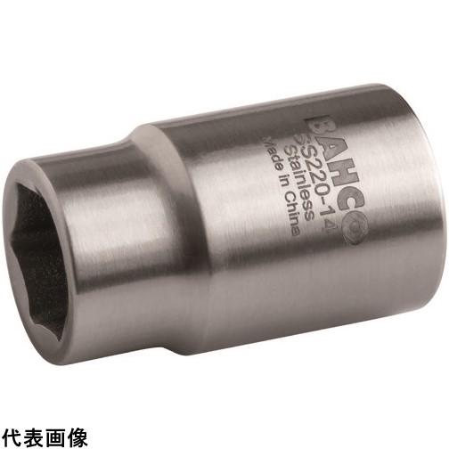 バーコ ステンレス製6角ソケット 差込角1/2インチ、サイズ27mm [SS220-27] SS22027      販売単位:1 送料無料