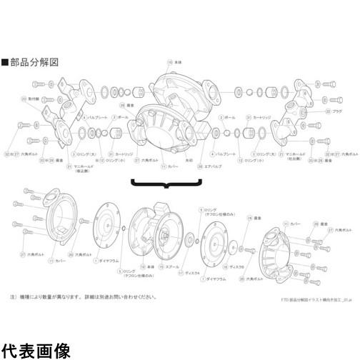 TAIYO TD-20AN用バルブシート TD20AN004 販売単位:1 送料無料