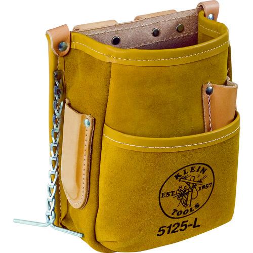 KLEIN ツールポーチ 5ポケット ブラウン 5125L             販売単位:1 送料無料