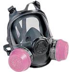 ハネウェル 全面防毒マスク面体 エラストマー製 サイズS [54001S] 54001S       販売単位:1 送料無料