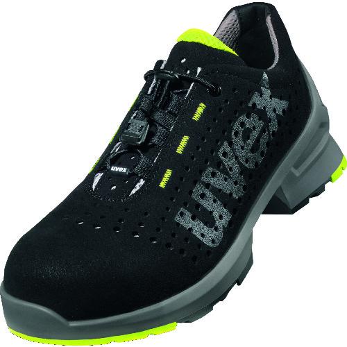 特別セール品 UVEX社 保護具 安全靴 作業靴 UVEX 8543.5-37 8116 UVEX 送料無料 ローシューズ 返品送料無料 販売単位:1 23.5CM ライム ブラック 8543.537