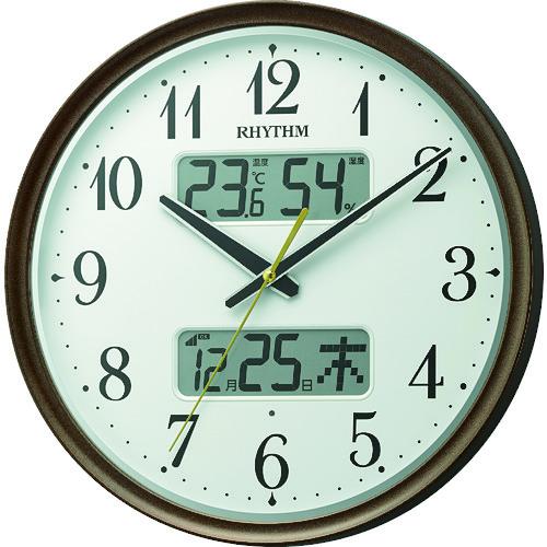 RHYTHM リズム 電波掛時計 [8FYA04SR06] 8FYA04SR06      販売単位:1 送料無料