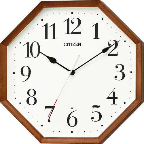 シチズン 木枠電波掛時計 [8MY531-006] 8MY531006      販売単位:1 送料無料