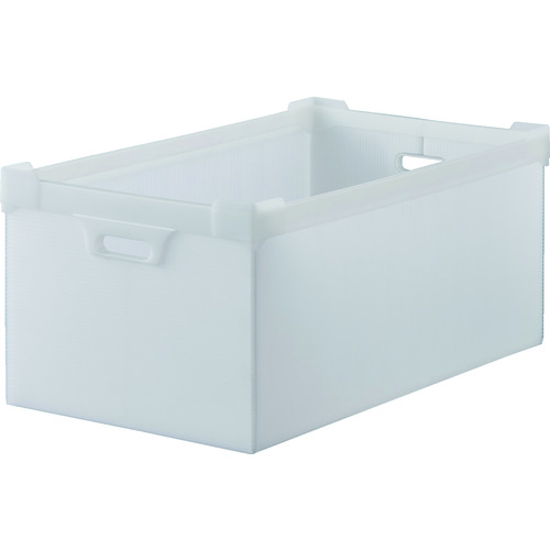 TRUSCO トラスコ中山 ダンボールプラスチック 45L 半透明 [DP-560-5N] DP5605N      販売単位:1 送料無料