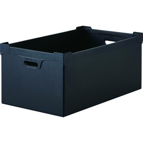 TRUSCO トラスコ中山 導電性ダンボールプラスチック 45L ブラック DP560D5N            販売単位:1 送料無料