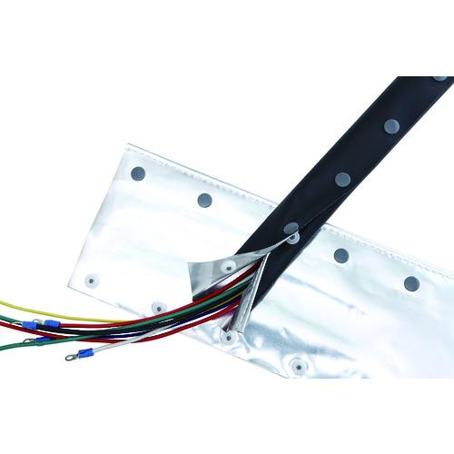 TRUSCO トラスコ中山 電磁波シールド結束チューブ ホックタイプ 70Φ5m OTF705R2            販売単位:1 送料無料
