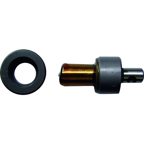 西田 M-P18用刃物ポンチダイス [P18-PD14] P18PD14      販売単位:1 送料無料