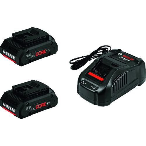 ボッシュ バッテリー充電器セット [PROCORE18V4S2] PROCORE18V4S2     販売単位:1 送料無料