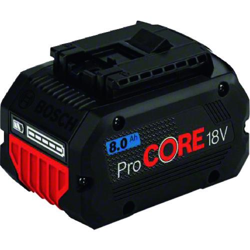 ボッシュ リチウムイオンバッテリー18V 8.0Ah [PROCORE18V8.0] PROCORE18V8.0     販売単位:1 送料無料