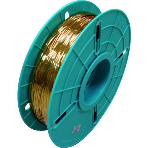 ビニタイ PETリール巻(ダイヤ巻き) 金 4mm×750M QK750T11D           販売単位:1 送料無料