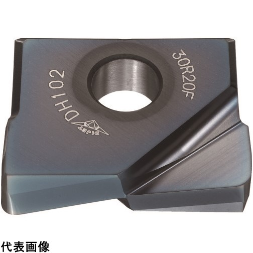 ダイジェット ミラーラジアスエンドミル用チップ DH102 [FRM-100-R10     DH102] FRM100R10      2セット 送料無料
