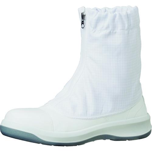 ミドリ安全 トウガード付 静電安全靴 GCR1200 フルCAP ハーフ ホワイト 23.5cm [GCR1200FCAP-HH-23.5] GCR1200FCAPHH23.5    販売単位:1 送料無料