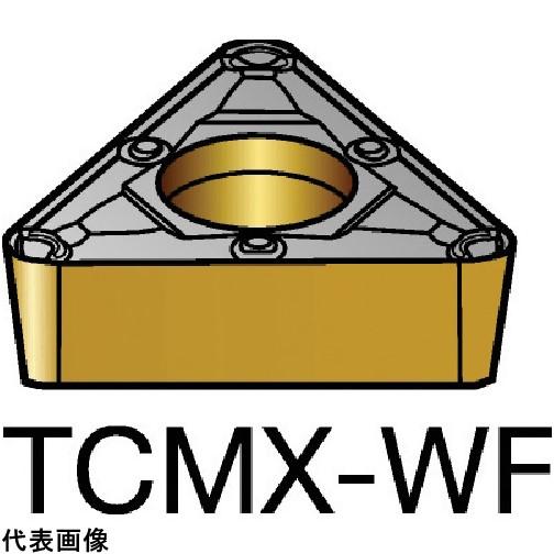 サンドビック コロターン107 旋削用ポジ・チップ 2015 TCMX16T308WF 10セット 送料無料