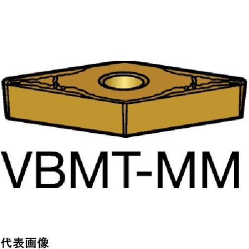 サンドビック コロターン107 旋削用ポジ・チップ 2025 VBMT160412MM 10セット 送料無料
