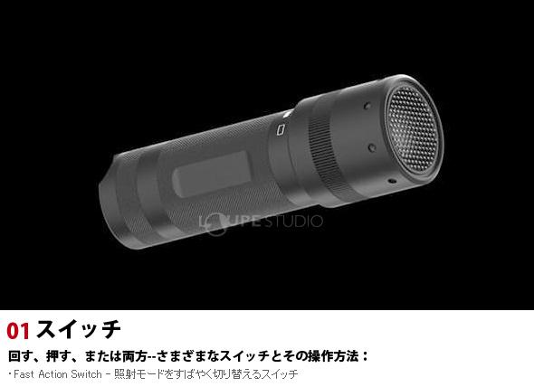 LED LENSER TスクエアQC 9802-QC レッドレンザー 懐中電灯 LEDライト?防災グッズ アウトドア