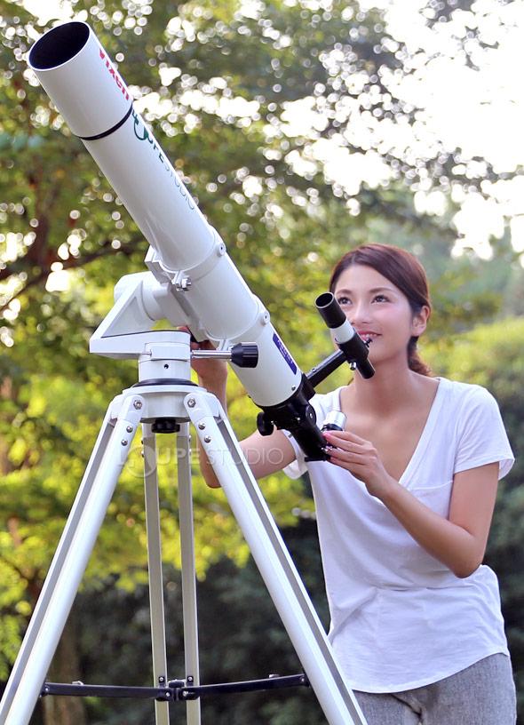 【お買い物マラソン クーポン配布中】天体望遠鏡 初心者 ビクセン スマホ ポルタ II A80Mf スマホ撮影セット Vixen ポルタ2 フレキシブルハンドル2本セット 子供 小学生 屈折式 スマートフォン キャリングケース付き