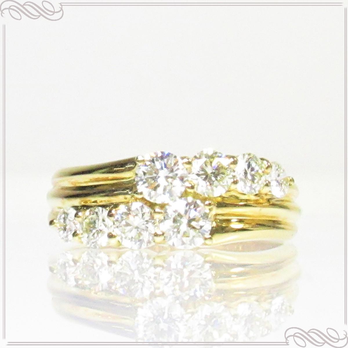 最も信頼できる ≪送料無料≫ リング 指輪 レディース K18YG Love&Fish/ラブアンドフィッシュ K18 K18YG 18金 8pcs ゴールド イエローゴールド 女性 大人 上品 プレゼント ギフト ダイヤモンド 8pcs リング 0.91ct 天然ダイヤ ブリリアント 日本製 ご褒美ジュエリー 誕生日 Love&Fish/ラブアンドフィッシュ, YASUI SMART:81860637 --- experiencesar.com.ar
