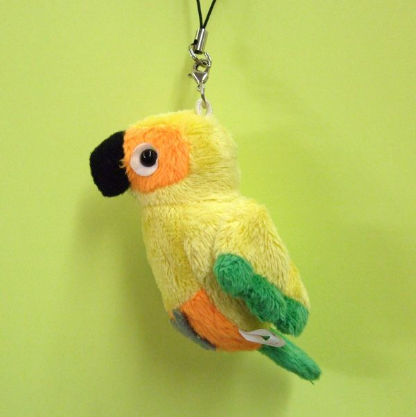 Love Journey Sun Conure Mobile Strap Size 7 Cm Rakuten Global Market
