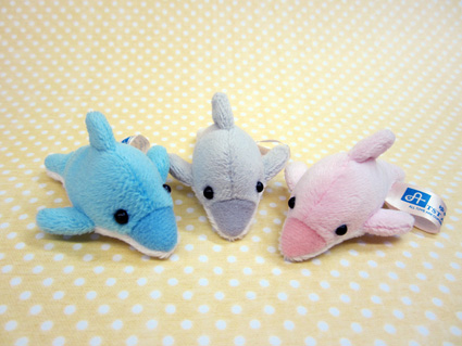 激安通販専門店 小さくて可愛い動物たち ちびだまアニマル タイムセール サイズ:約7cm イルカ