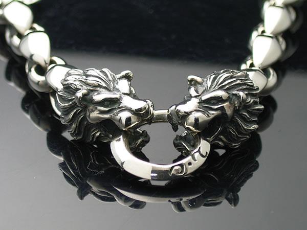 Double Lion Head Bracelet Large Size