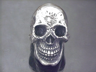 Skull ring 9 jaw with