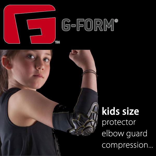 【G-FORM】Gフォーム プロテクター エルボーガード コンプレッション キックバイク バランスバイク サッカー