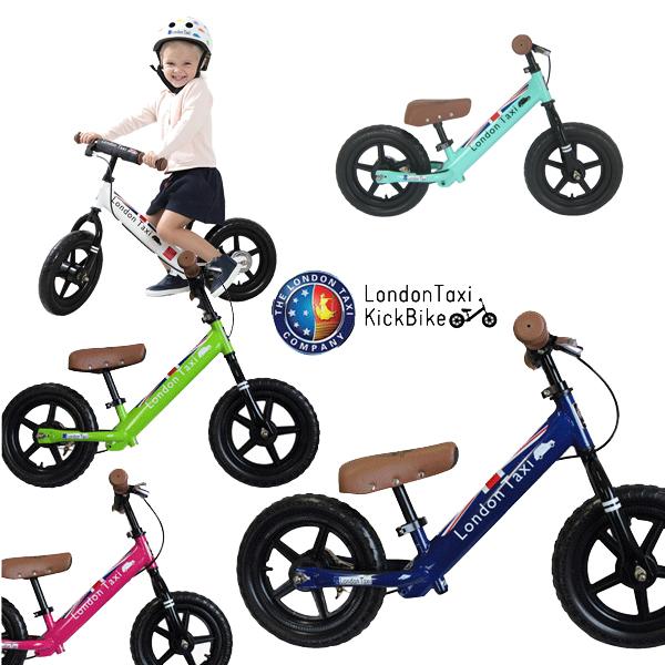 バランスバイク キックバイク London Taxi (ロンドンタクシー) 子供用 ブレーキ ペダル無し自転車 2019start
