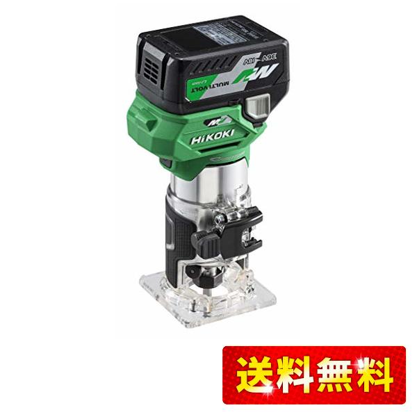 HiKOKI ハイコーキ 36V コードレス ブランド買うならブランドオフ トリマ 軸径6mm 8mm 完全送料無料 充電器 XP 取り付け可能 システムケース付き M3608DA 蓄電池1個