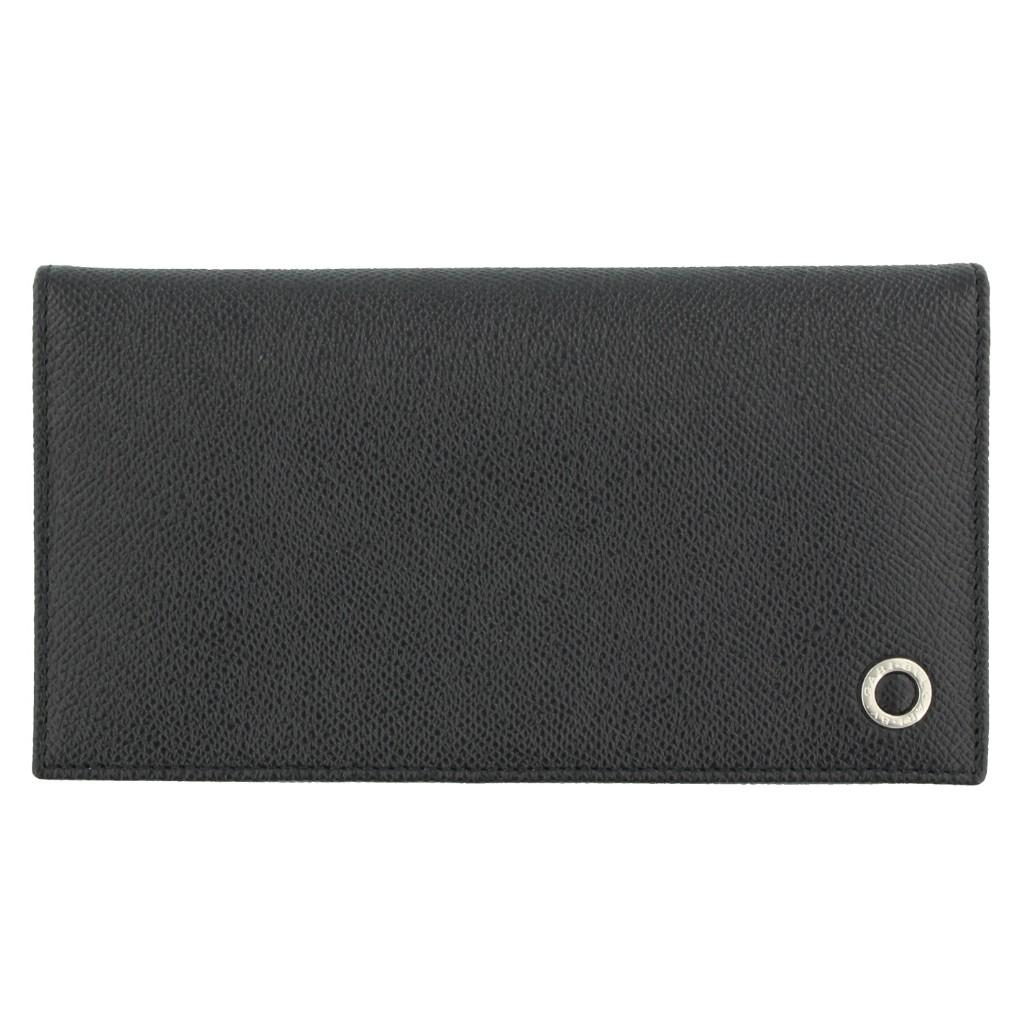 【送料無料】BVLGARI(ブルガリ)  長財布 【期間限定ポイント5倍】BVLGARI ブルガリ 長財布 ブラック メンズ ブルガリ ブルガリ 30398 BLACK