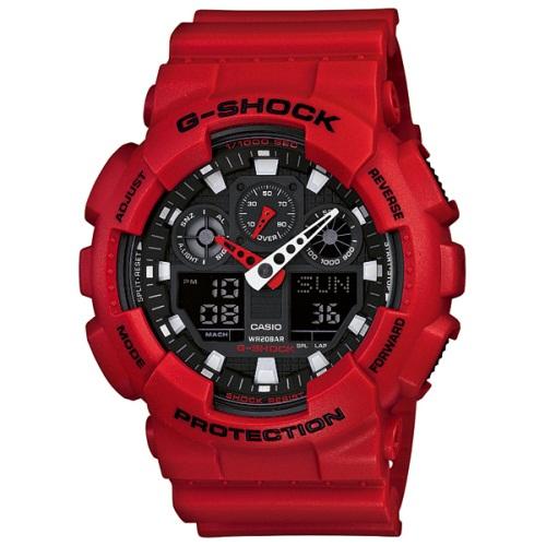 【72時間限定ポイント3倍】CASIO カシオ 腕時計 メンズ G-SHOCK GA-100B-4AJF G-ショック