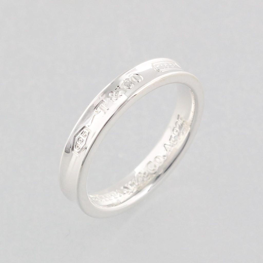 Tiffany&Co. ティファニー 1837 ナロー リング 4MM 17号 22993852