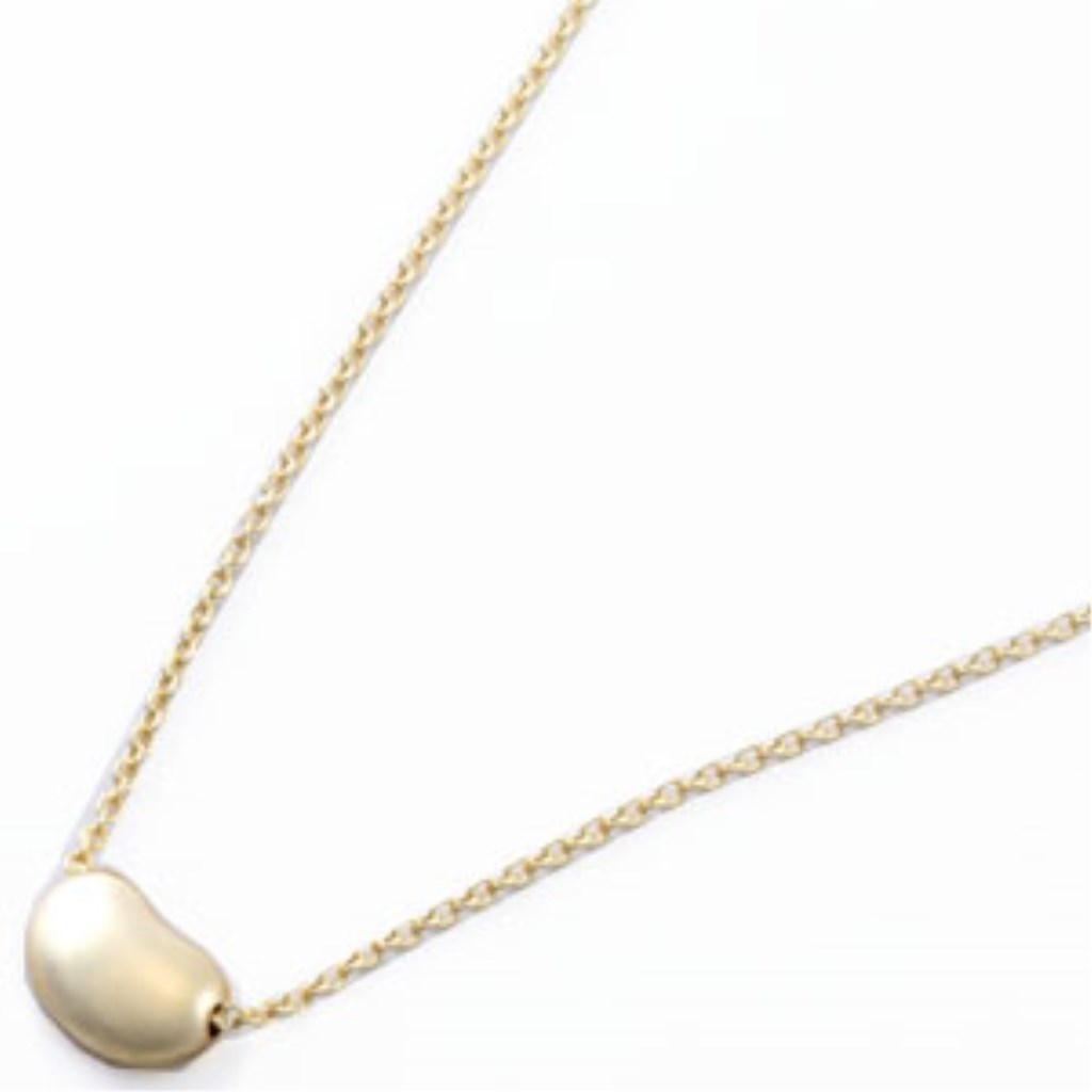 Tiffany&Co. ティファニー ネックレス ビーン ミニサイズ ペンダント 25704576