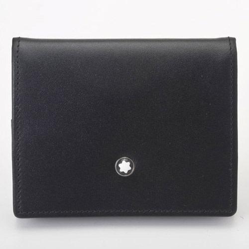 【期間限定ポイント5倍】モンブラン MONTBLANC コインケース メンズ ブラック 14877