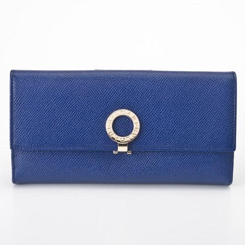BVLGARI ブルガリ 36316 BLUE ブルガー 長財布