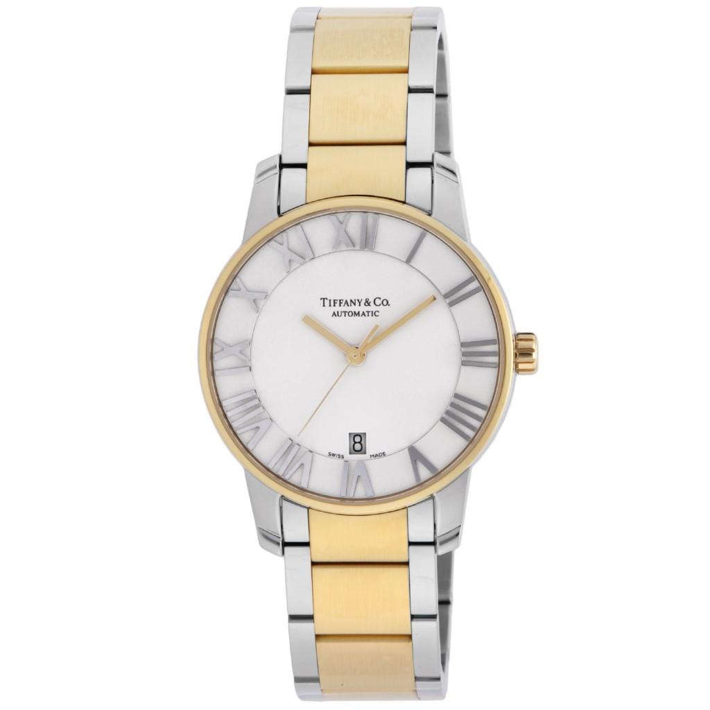 Tiffany&Co. ティファニー 腕時計 メンズ アトラス ドーム シルバー Z1800.68.15A21A00A