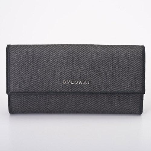 BVLGARI ブルガリ 長財布 メンズ ウィークエンド ブラック 32589