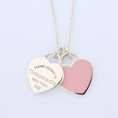 Tiffany&Co. ティファニー リターン トゥ ミニ ダブル ハート タグ ペンダント 28751249