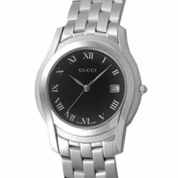 【期間限定ポイント10倍】グッチ 腕時計 GUCCI メンズ YA055302 #5505 ブラック