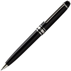 【28時間限定ポイント10倍 1/9 20時~】モンブラン P116 マイスターシュテック ブラック/プラチナ ボールペン