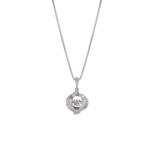 【期間限定ポイント20倍】Crossfor New York クロスフォー ニューヨーク NYP-527 Dancing stone ネックレス
