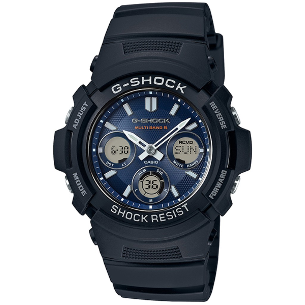 【72時間限定ポイント3倍】CASIO カシオ 腕時計 メンズ G-SHOCK AWG-M100SB-2AJF G-ショック