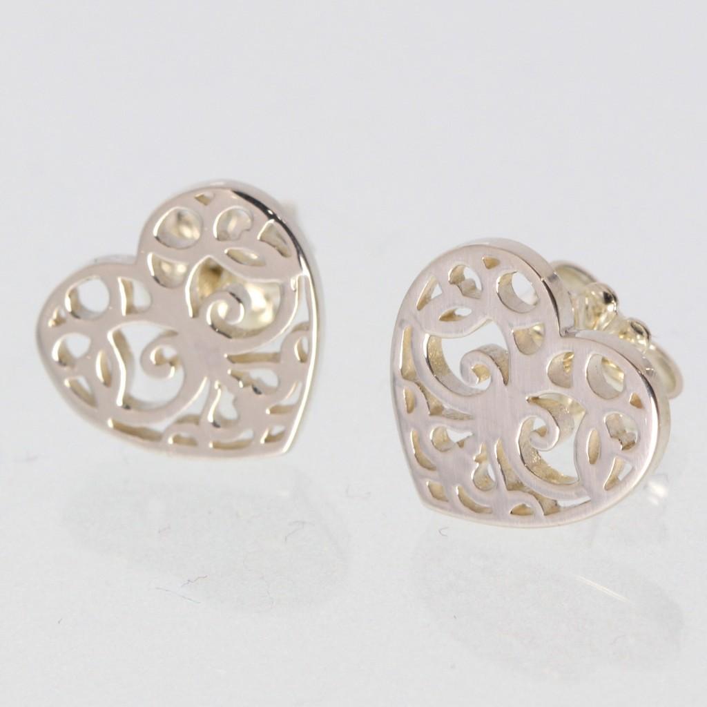 Tiffany&Co. ティファニー エンチャント ハート ピアス 32153801