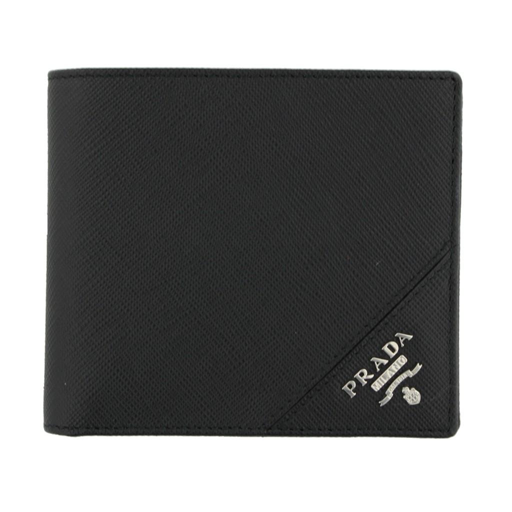 【期間限定ポイント10倍】プラダ PRADA 財布 メンズ 2MO738 QME F0002 NERO