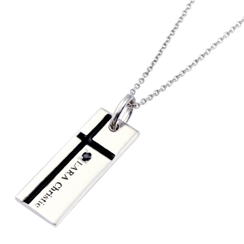 LARA Christie ララクリスティー ネックレス メンズ P3051-B シルバーアクセサリー BLACK Label