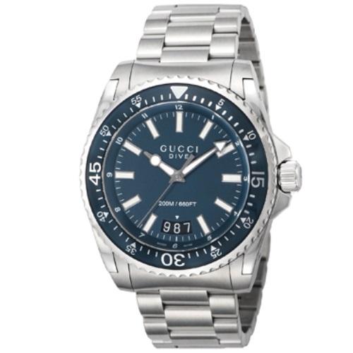 【38時間限定ポイント5倍 3/29 20時~】GUCCI グッチ 腕時計 メンズ YA136203 ダイヴ