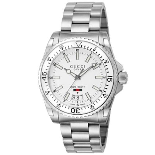 【38時間限定ポイント5倍 3/29 20時~】GUCCI グッチ 腕時計 メンズ YA136302 ダイヴ