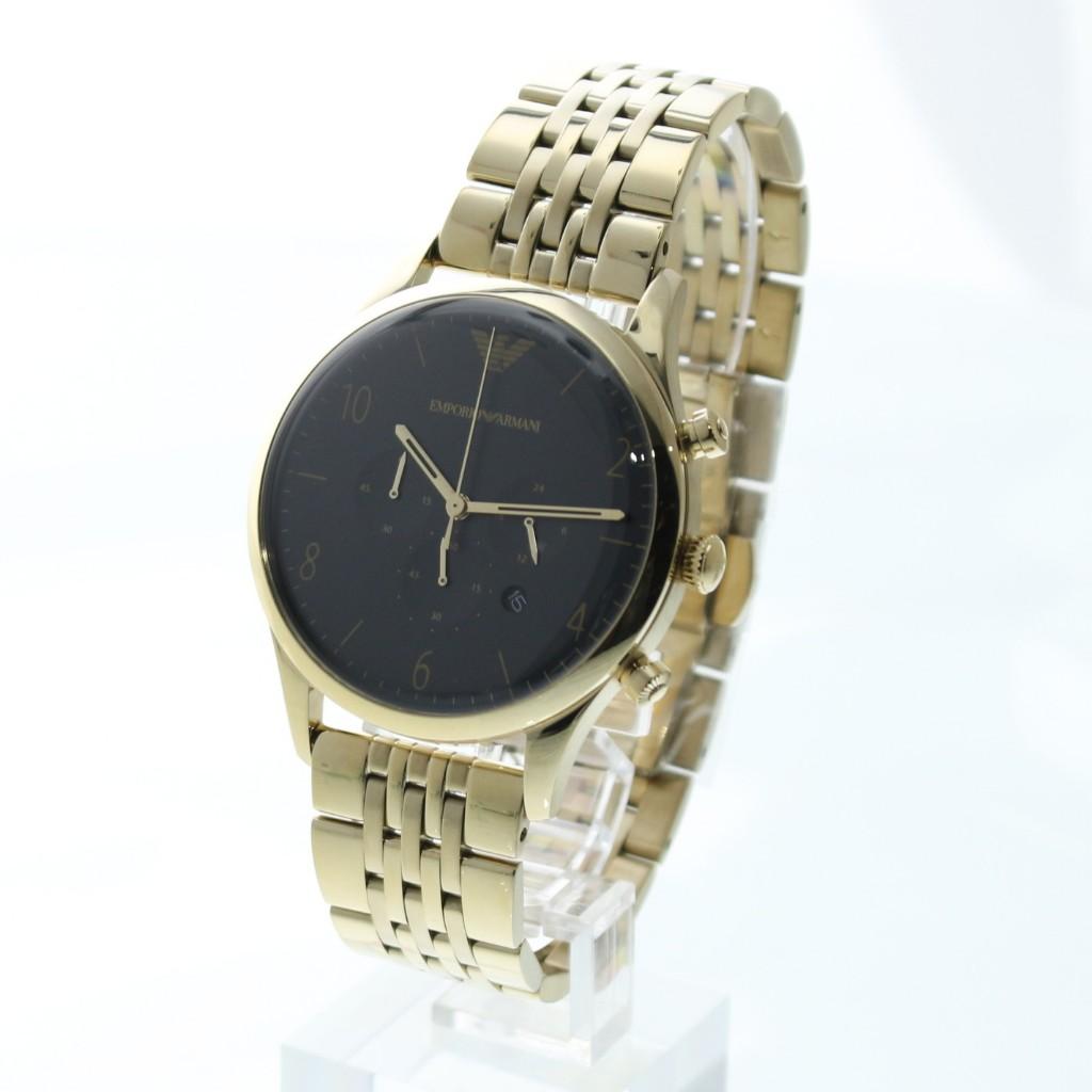【34時間限定ポイント5倍 & 最大3万円OFFクーポン配布中】EMPORIO ARMANI エンポリオアルマーニ 腕時計 メンズ クラシック AR1893 ブラック