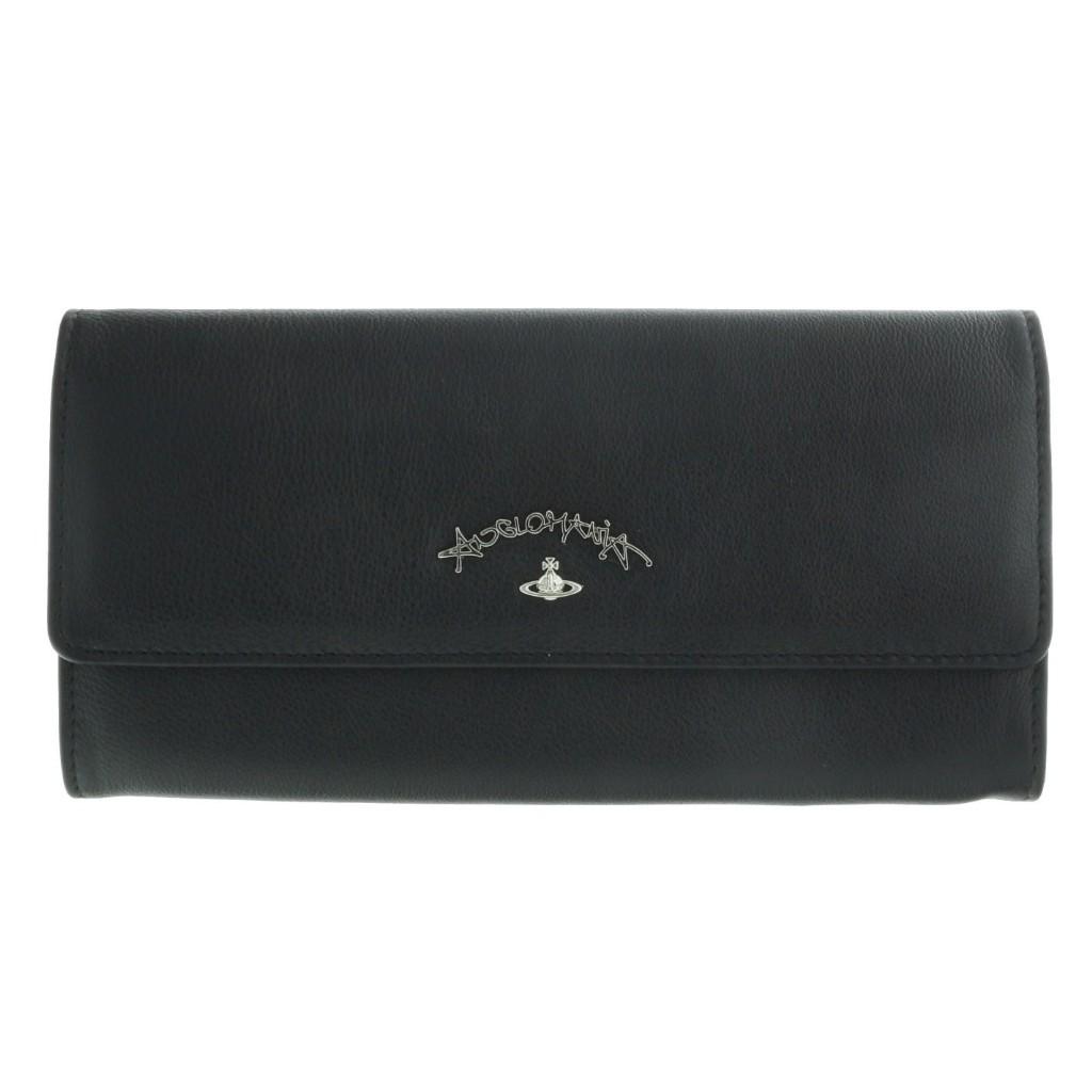 Vivienne Westwood ヴィヴィアンウエストウッド 長財布 321245 BLACK