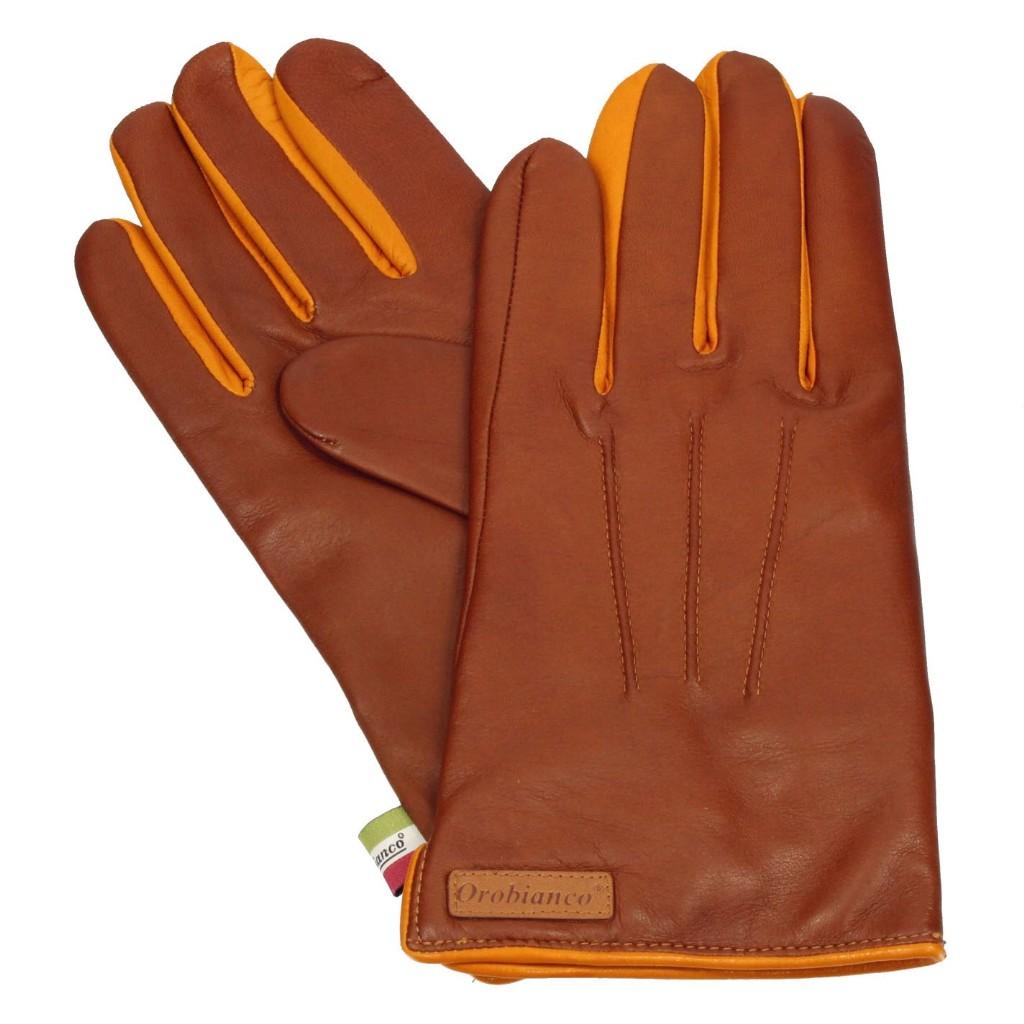 Orobianco オロビアンコ 手袋 ORM-1530 L.BROWN/CAMEL 8.5サイズ