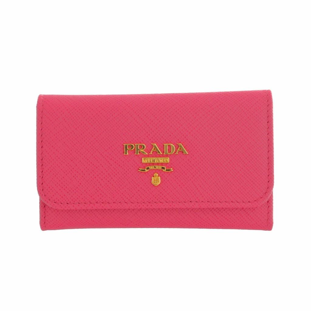 PRADA プラダ キーケース 1PG222 QWA F0505 PEONIA